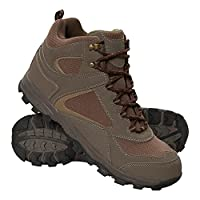 Mountain Warehouse McLeod Mens Hiking Boots - Durable, Breathable Walking Shoes, Sturdy Grip, EVA Cushioning, Mesh Lining - Ideal for Travelling, Camping, Hiking