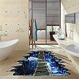 Pegatinas Decorativas Pared 3D Serie Star Pegatinas de Pared de Piso Calcomanías Murales Extraíbles Vinilo Art Decoración de habitación decoración hogar decoración baño escaleras