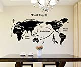 Best Wall Posters - Decals Design 'World Map' Wall Sticker Review
