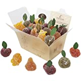 Fruit Jellies,12 Luxury Fruit Jelly Sweets In Gift Box, Blended With Fresh Fruit pulp