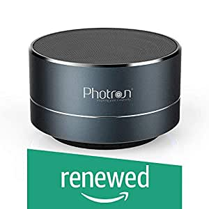 (Renewed) Photron P10 Wireless 3W Portable Bluetooth Speaker (Deep Cobalt)