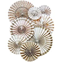 My Mind's Eye Vintage Style Party Fans, 8 Count, Gold by My Mind's Eye preisvergleich bei billige-tabletten.eu