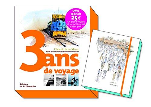 Coffret 3 Ans de voyage. 25 pays par voie terrestre en histoires et en images