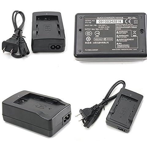 Doradus chargeur de batterie MH-18a avec un cordon pour Nikon EN-EL3a e d200 d300 d700 d50 d70 d80 d90