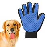 #10: Piyuda Cleaning Hair Brush Comb Animal Massage Hair Removal Dog Grooming True Touch Shedding Brush Bath Gloves