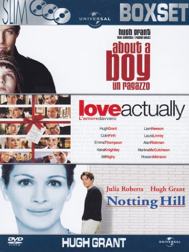 About a boy - Un ragazzo + Love actually - L'amore davvero + Notting Hill [3 DVDs] (Phillips Liam)