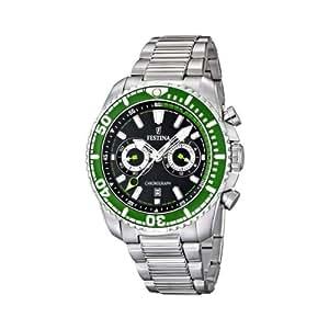 Festina - F16564/6 - Montre Homme - Quartz Chronographe - Bracelet Acier Inoxydable Argent