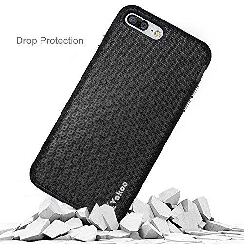 iPhone 7 Plus Cover, Vakoo iPhone 8 Plus Custodia - TPU [UltraSlim] Copertura Della Cassa Del Custodia Case Tacsa Protettiva Shell Cover per Apple iPhone 7 Plus / 8 Plus (Viola)