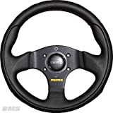 Momo Lenkrad Team 28 28cm schwarz Leder (mit ABE) steering wheel volante