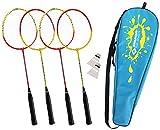 Schildkröt Funsports Badminton in Tasche Federball 4 Spieler