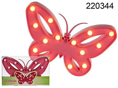 OOTB LED-Leuchtmittel, Plastik, Rosa, 26 x 17 x 3.5 cm