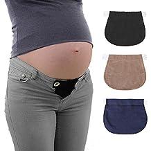 47b0243ab479 Healifty Estensori per Pantaloni di Gravidanza regolabile 3 PCS