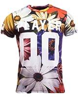 "Mens Criminal Damage T Shirt ""Summer"" Black S M L XL"