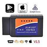 Gadget Guru ELM327 Wi-Fi OBD II Car Engine ECU Fault Code Reader Version