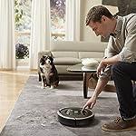 iRobot Roomba 895 Saugroboter mit leistungsstarker Saugeinheit, zwei Multibodenbürsten, WLAN, Optimal für Teppiche…