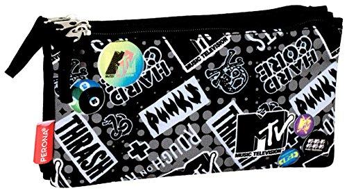 Perona 53952 MTV Estuches, 22 cm, Multicolor