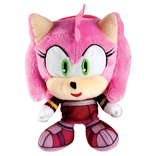 "Sonic the Hedgehog T22515AAMY 15 cm ""Sonic Boom Amy Rose Head"" Plush Figure"