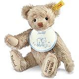 Steiff 001765 Teddybär zur Geburt, 27 cm, Mohair, beige