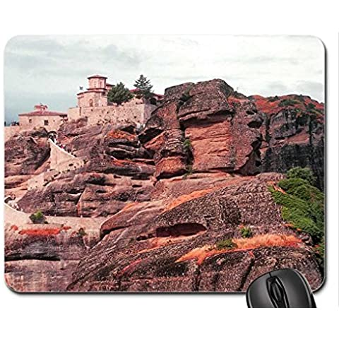hill top residences Mouse Pad, Mousepad (Houses Mouse Pad)