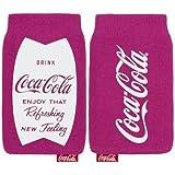 Original Coca Cola Universal Sock Hülle Fuschia Rosa Geeignet für Retail Verpackung Sony Xperia Z3 Compact
