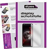 dipos I 2X Schutzfolie klar passend für Sharp B10 Folie Displayschutzfolie