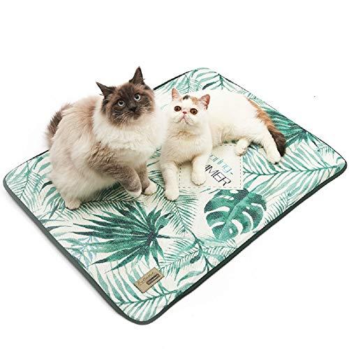 Vlunt Kühlmatte Hund und Katzen, Komfort Sommer Haustier Selbstkühlendes Pad