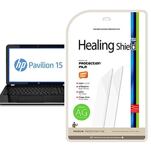 Healingshield Schutzfolie Displayschutz HP Pavilion 15-N276TX Anti-Glare, Anti-Fingerprint Type LCD Screen Protector Screen Protector Anti Glare Lcd