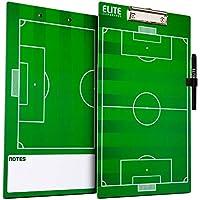 Elite Clipboards double Sided Dry Erase allenatori Marker Board