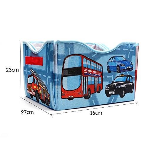 2en 1Ciudad spielmatte y caja juguete para el Aprendizaje para niños de beby