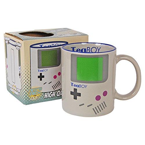 Tea Boy Game Boy Parody Funny Mug in Gift Box
