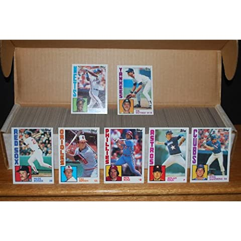 1984 Topps Baseball Complete Set (Don Mattingly Rookie Card) by Topps Collectibles