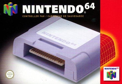 Nintendo 64 - Memory Card Controller Pack (Controller Nintendo 64 Super)