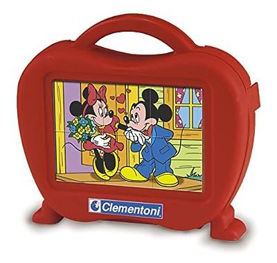 Clementoni 40609.8 Mickey - Puzzle de cubos para bebés (6 cubos) de Clementoni