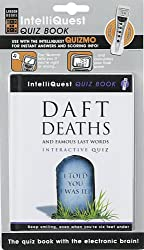 Daft Deaths and Famous Last Words IntelliQuest Quiz