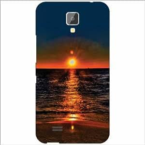 Gionee Pioneer P2S Back Cover - Silicon Sunrise Designer Cases