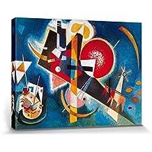 Vassili Kandinsky - En Azul, 1925 Cuadro, Lienzo Montado Sobre Bastidor (80 x 60cm)