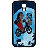 S4 i9000 Funda,Excellent Protection,Provides protection and prevents scratches,pc black Funda for samsung S4 i9000,Lilo and Stitch JZZDEJZW017937