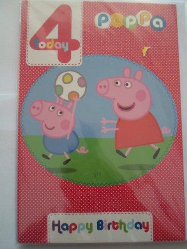 Peppa-Pig-Et-4-Carta-di-compleanno