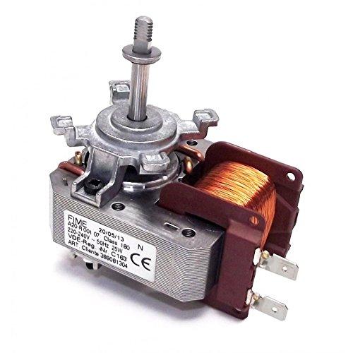 daniplus Heißluftventilator, Ventilator für Heißluft Herd, Backofen Passend Wie AEG Electrolux 389081304/5