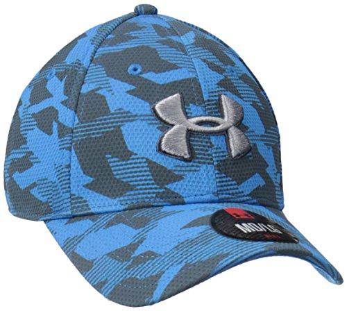 Under Armour UA Print Blitzing Cap Sportswear Caps, Uomo, Sportswear UA Print Blitzing Cap, blu brillante, M/L