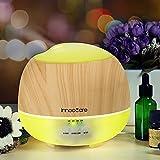 500ML Diffuseur d'Huiles Essentielles InnooCare Diffuseur d'Arômes Humidificateur Ultrasonique Lampes à Parfum avec la Certification CE