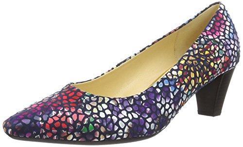 Gabor Shoes 65.14, Scarpe con Tacco Donna Blu (river 46)