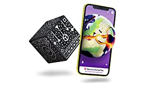 MERGE Cube (EU Edition) - Hold a Hologram, Works with VR/AR Goggles and includes Free AR Games and Apps in local languages. iOS and Android compatible
