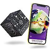MERGE Cube (EU Edition) - Hält ein Hologramm, funktioniert mit VR / AR-Brillen und enthält kostenlose AR-Spiele und Apps in lokalen Sprachen. iOS und Android kompatibel