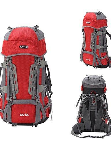 GXS Outdoor Suspension Verstellbare federungshärte System Airflow Exchange Camping Bergsteigen Tasche rot - rot