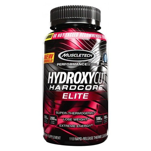MUSCLETECH HYDROXYCUT HARDCORE ELITE 110 CPS