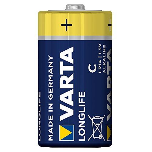 Varta Longlife Batterie C Baby Alkaline Batterien LR14 – 6er Pack - 2
