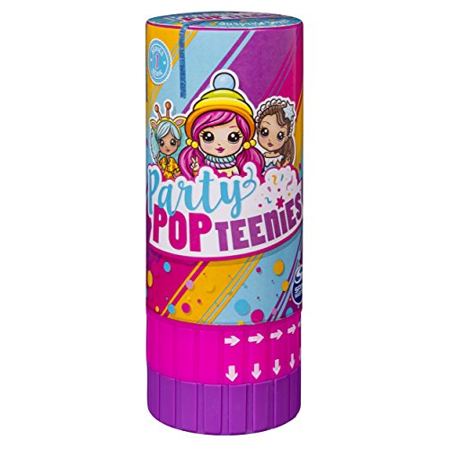 Party Popteenies - Surprise Popper with Confetti, Collectible Mini Doll And Accessories