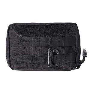 51XNAzPmN0L. SS300  - LefRight Tactical Admin Pouch Molle Nylon Tool Compact Bag Black