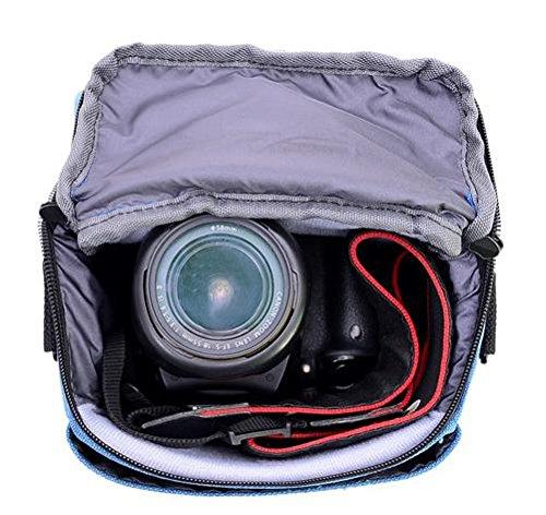 Z&HXborsa a tracolla Fotografia reflex borse fotocamera zaino impermeabile multifunzionale DV , black Khaki